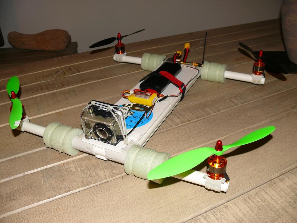 Квадрокоптер своими руками с пультом 919