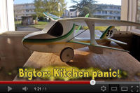 Bigtor - Kitchen panic