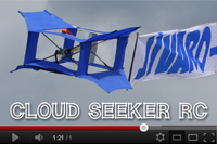 Cloud Seeker, cerf-volant RC